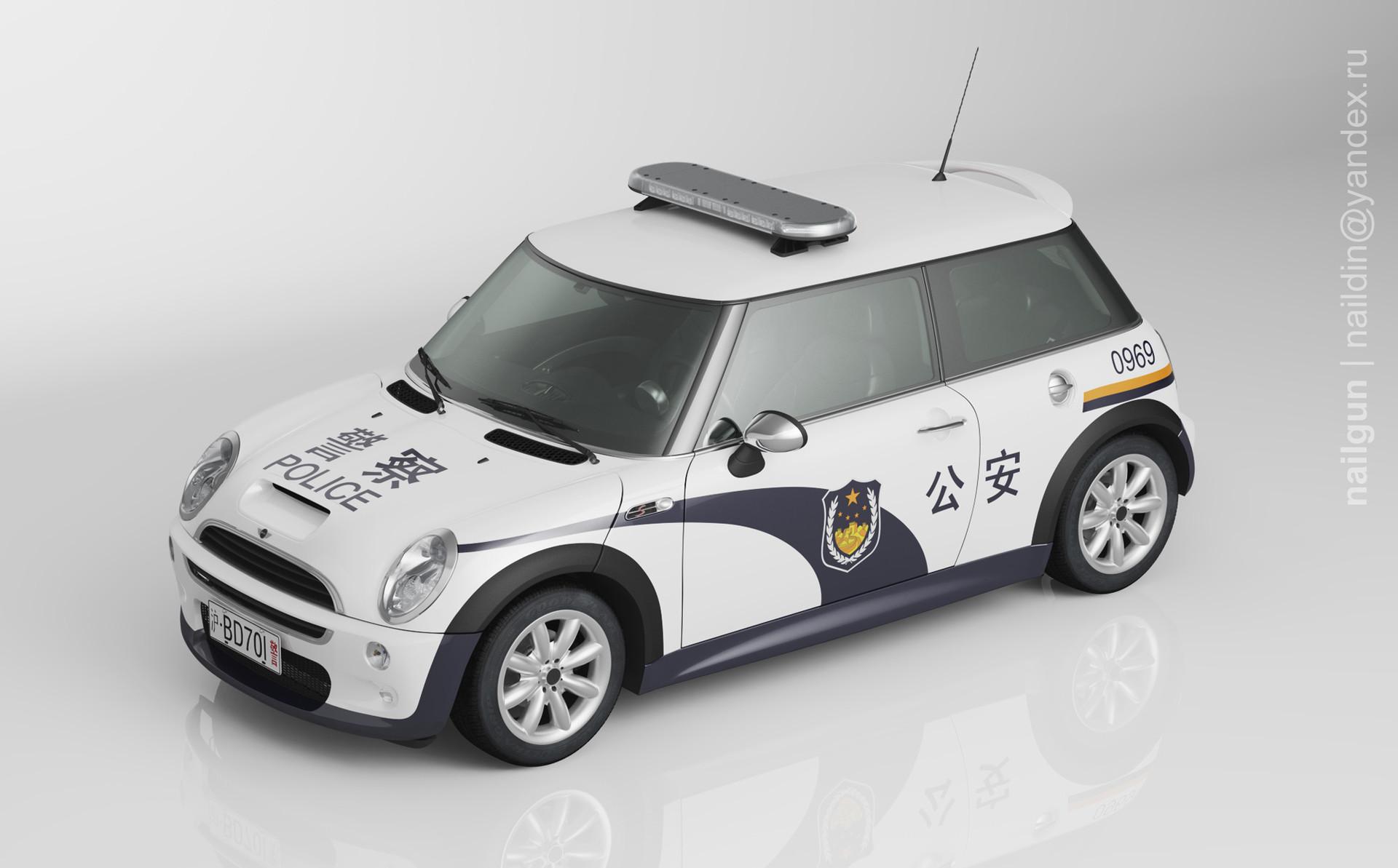 Nail khusnutdinov pwc 040 004 mini coopers 03 miniature