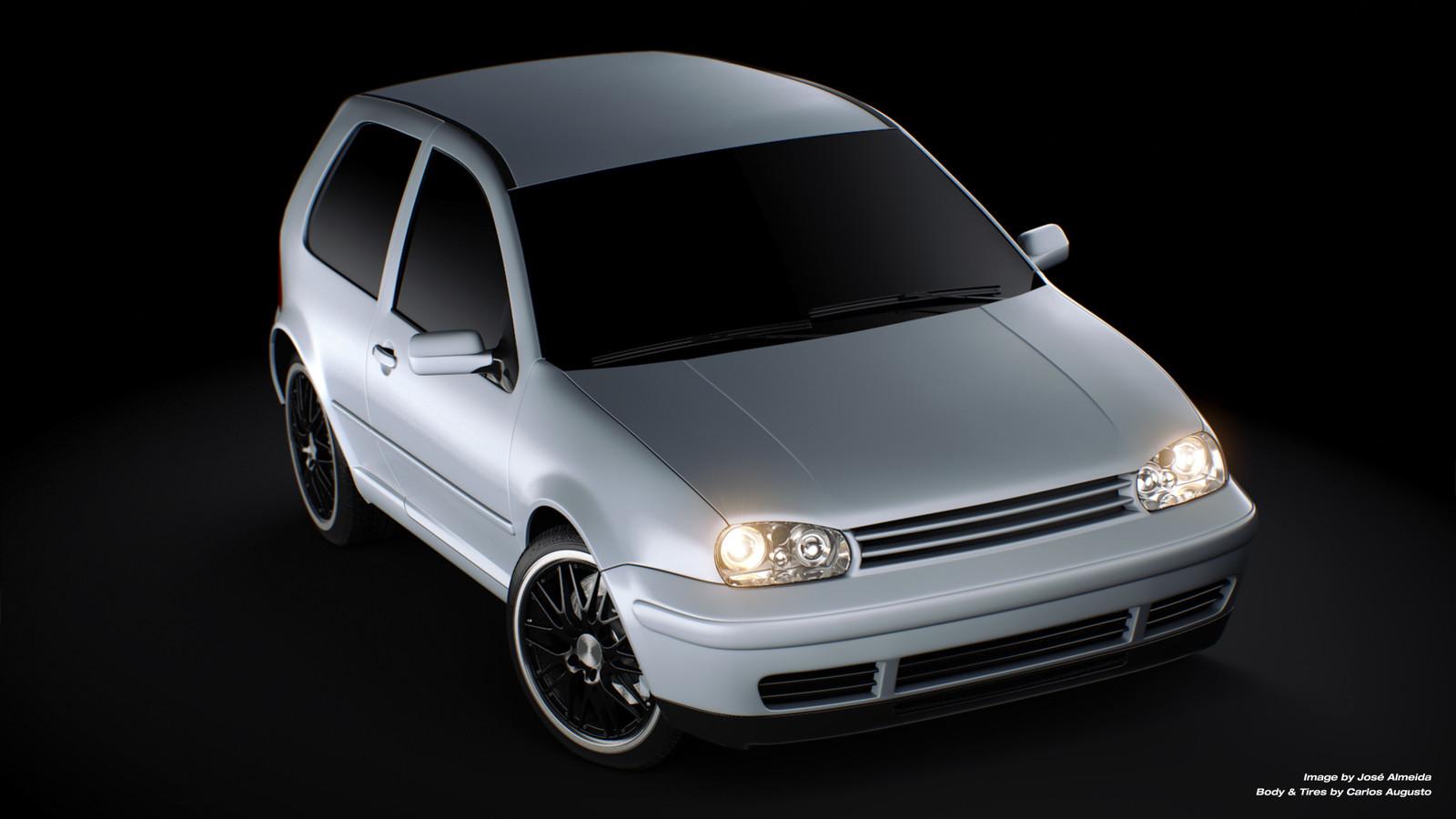 VW Golf silver