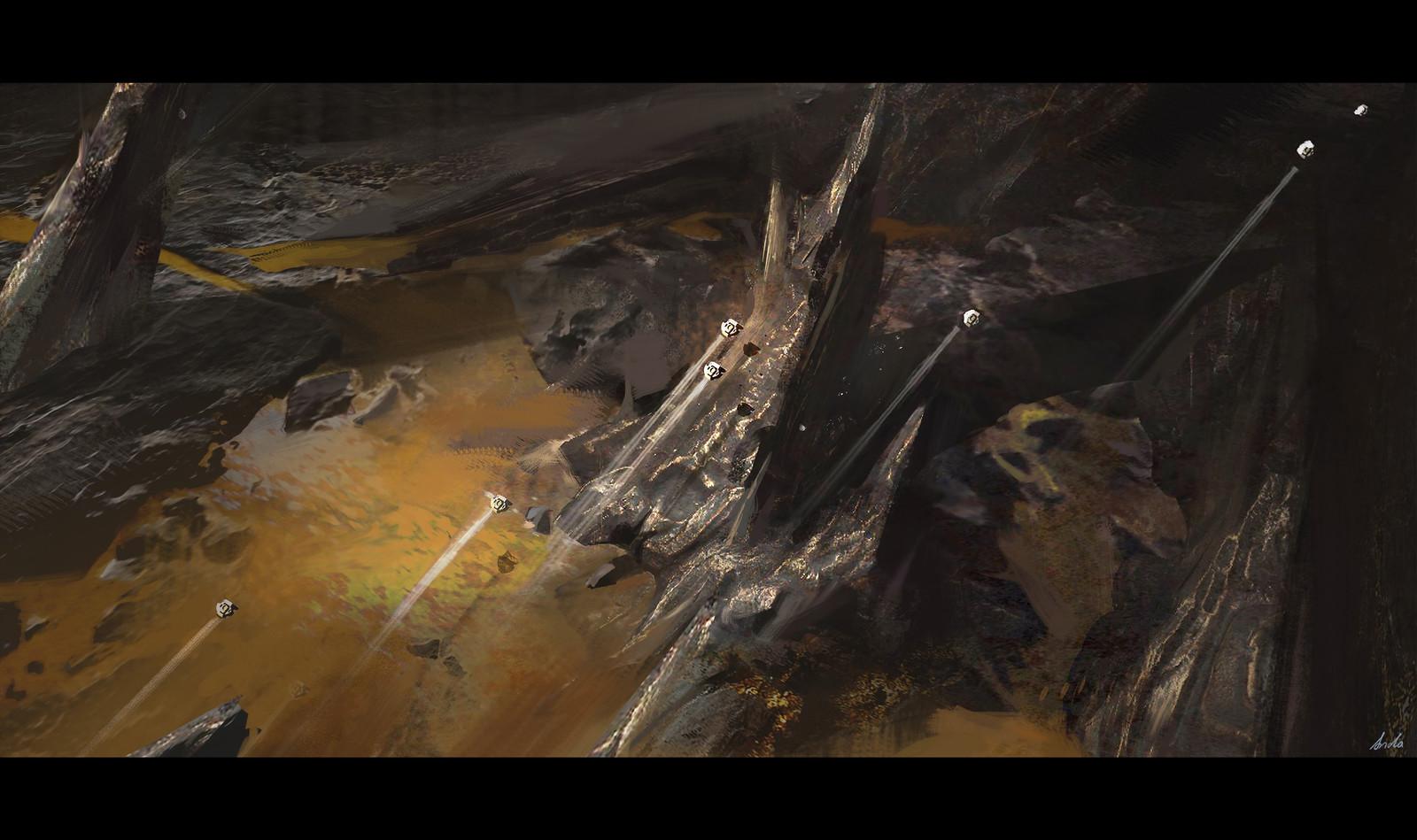 Cetus Fall: Ferric Rock & Krill Energy