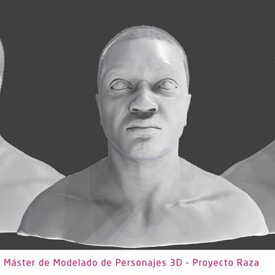 Edgar teba mateo plantilla modelado de personajes 3d black