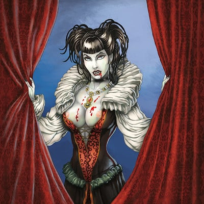 Mike ratera seffana vampirique cover color