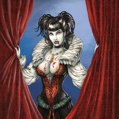Mike ratera seffana vampirique cover color