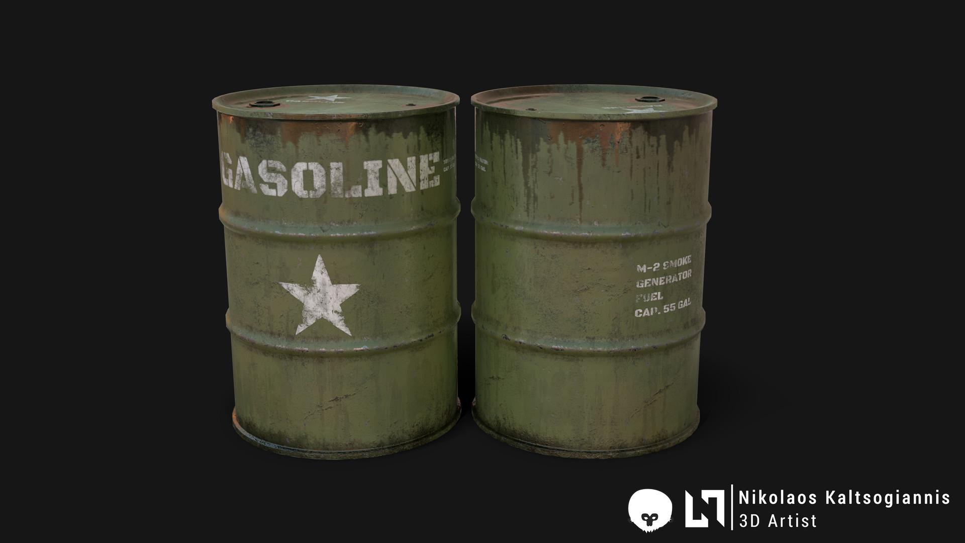 Nikolaos kaltsogiannis steel barrel 01
