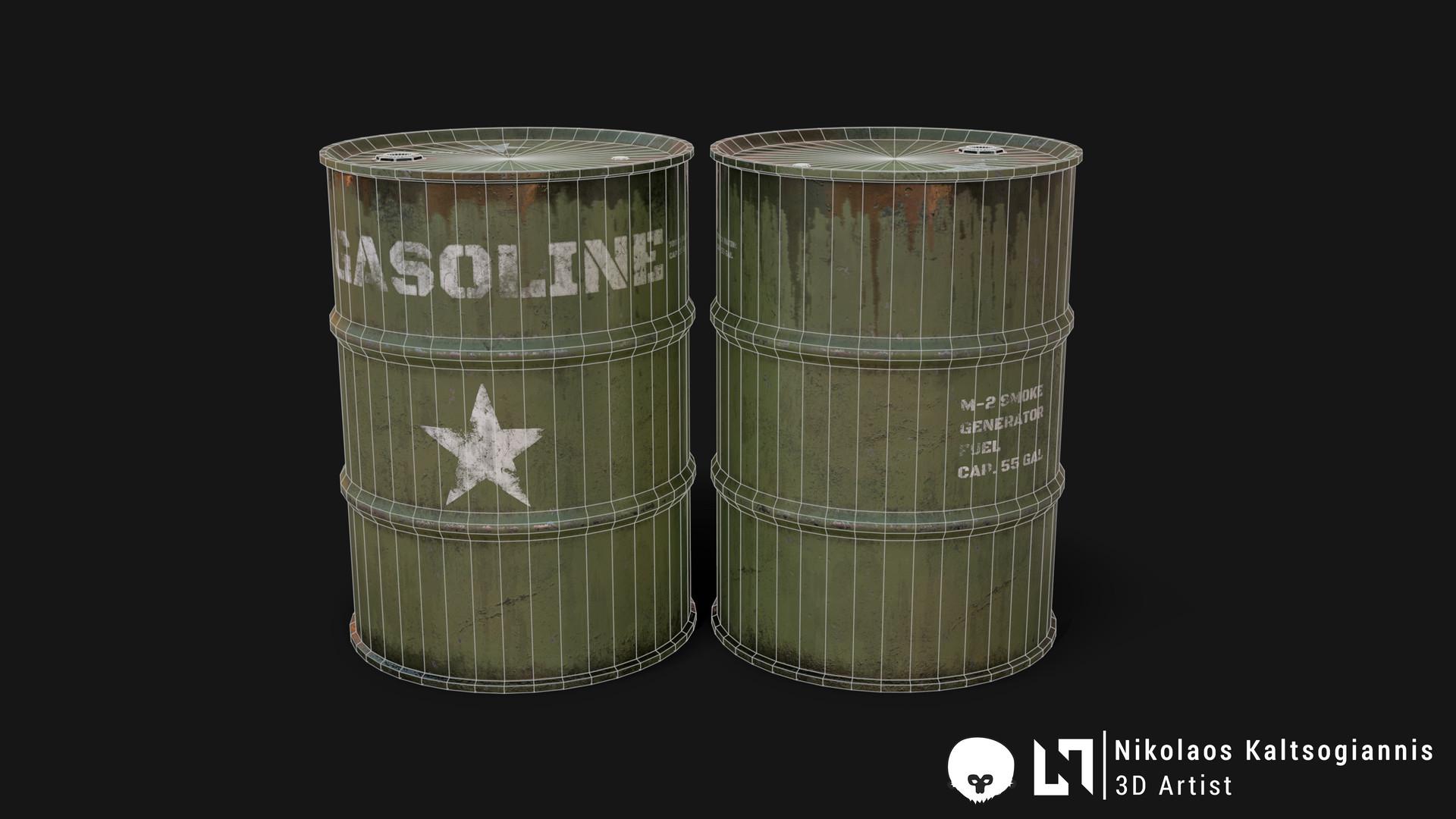 Nikolaos kaltsogiannis steel barrel 02