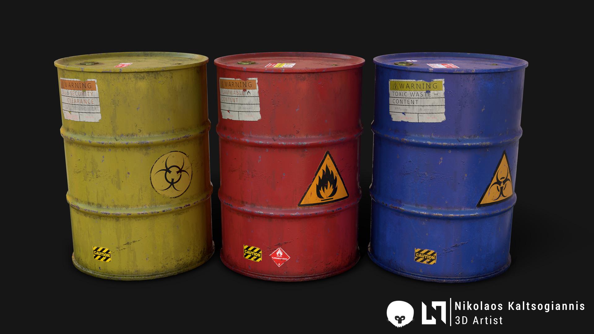 Nikolaos kaltsogiannis steel barrel 04