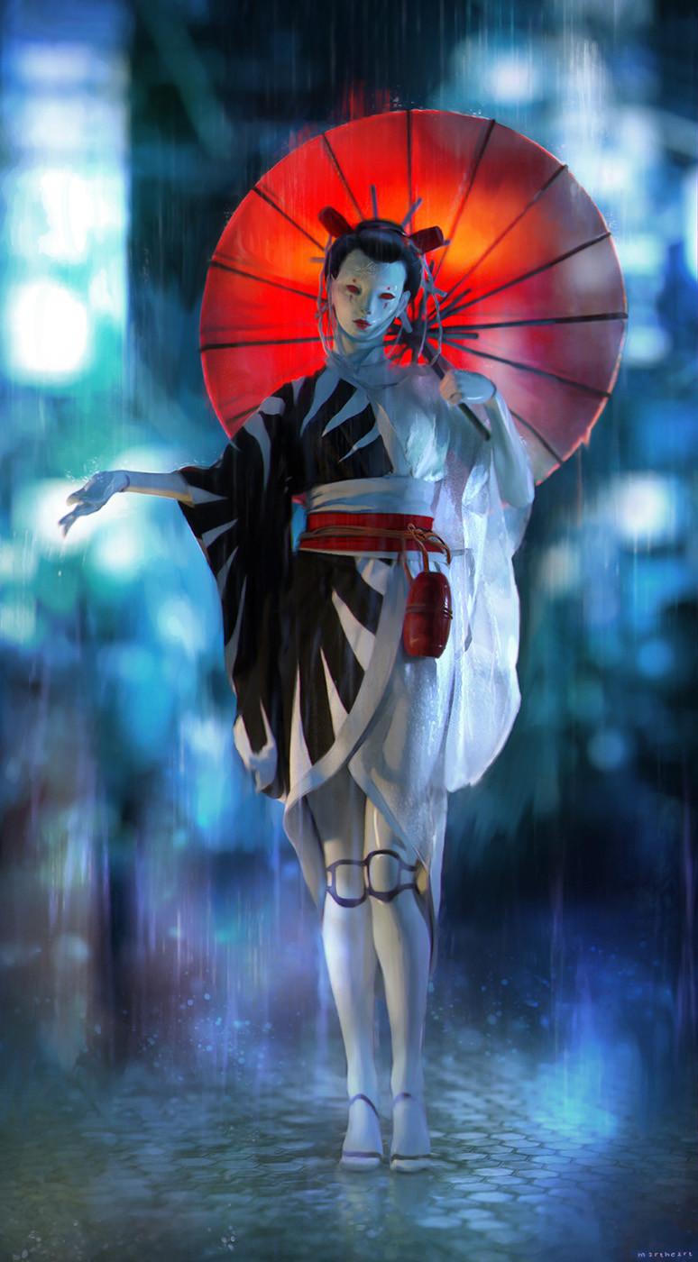 Inkpunk 55: Future Geisha