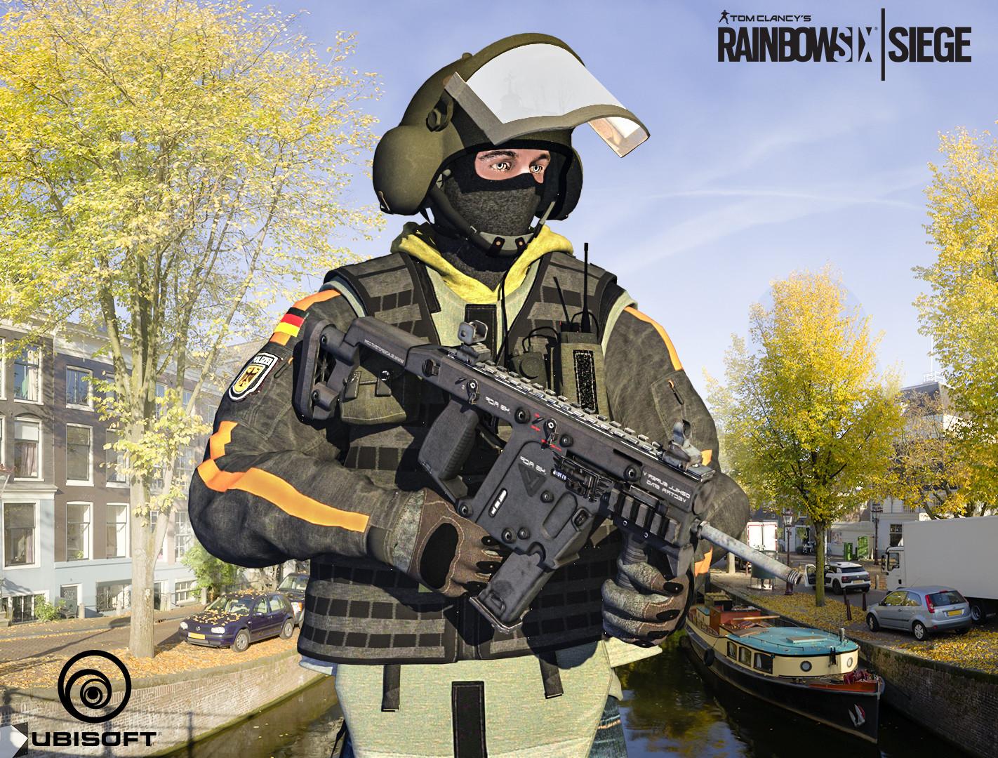 bawaqar haider bandit tom clancy rainbow six siege