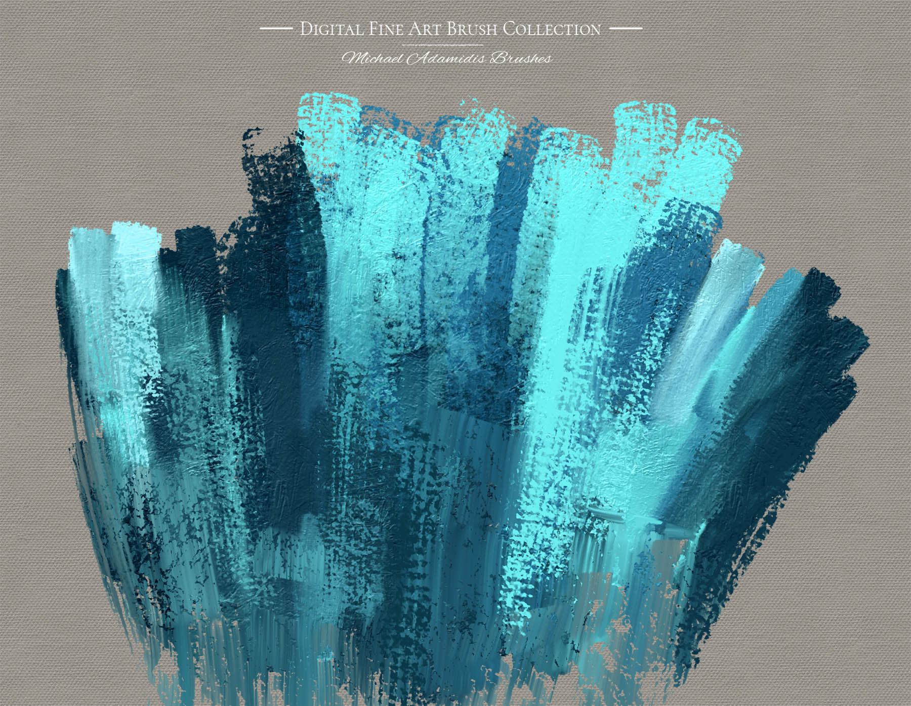 ArtStation - Digital Fine Art Painting Brushes for Photoshop