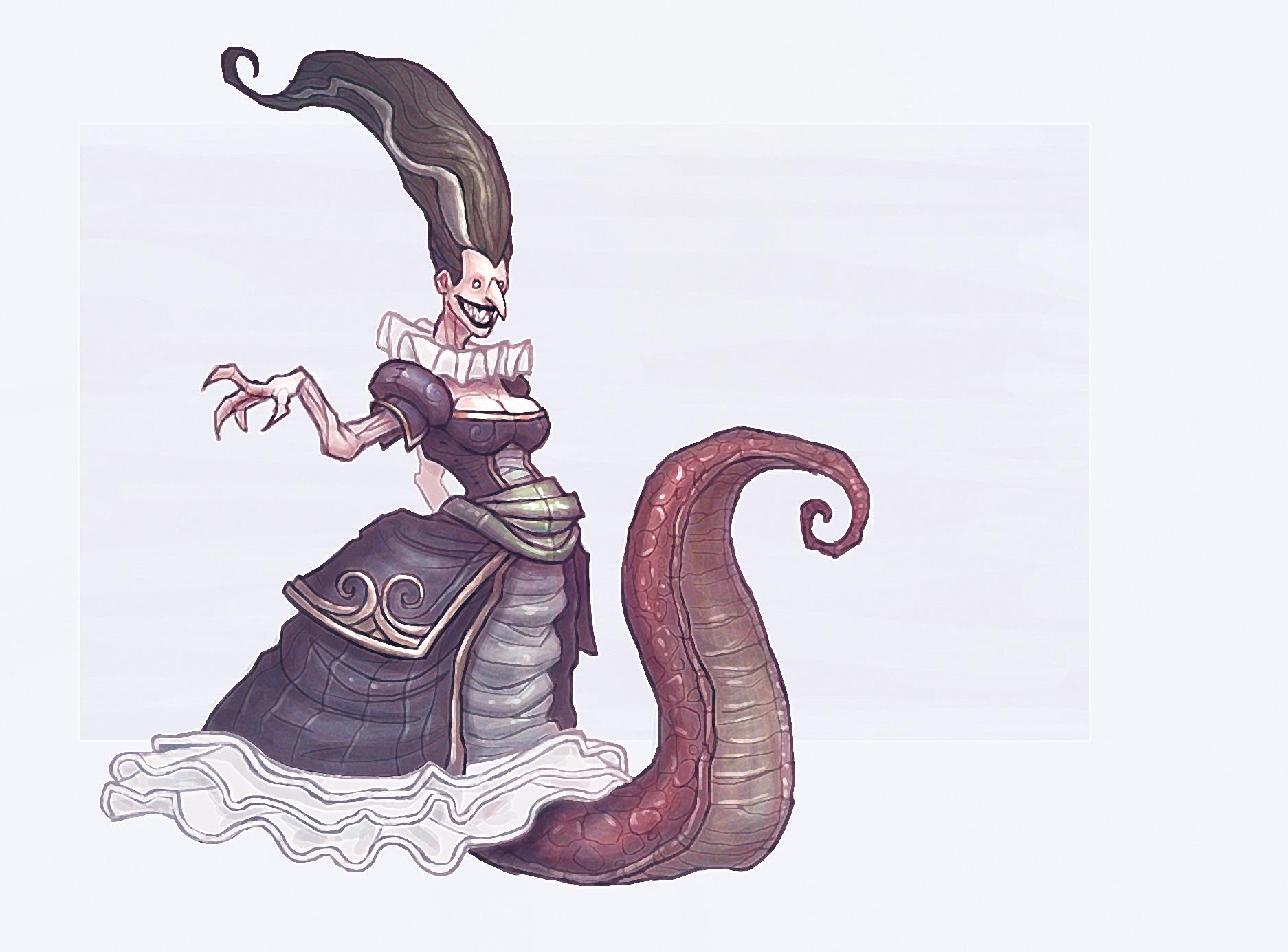 Chema samaniego evil queen 4