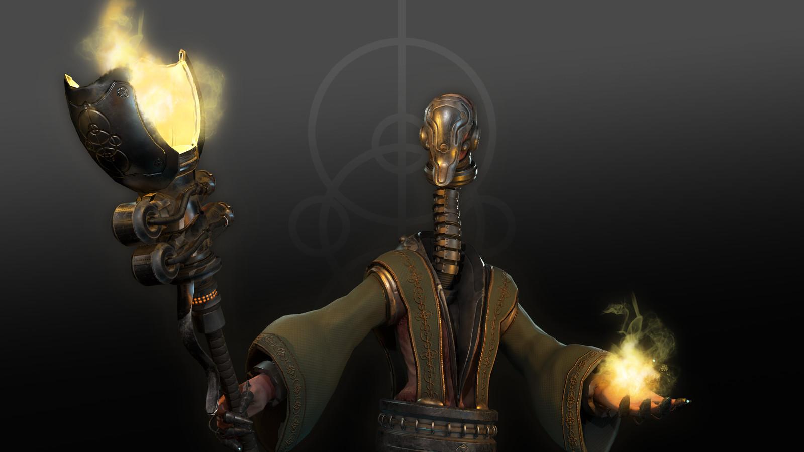 Cyborg Priest