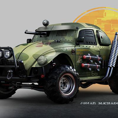 Jomar machado 137 war beetle