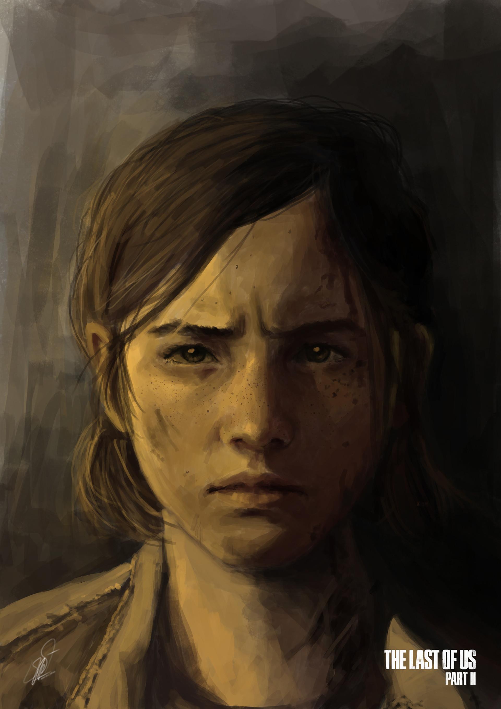 Valentinus Adrian Ellie Portrait The Last Of Us Part 2