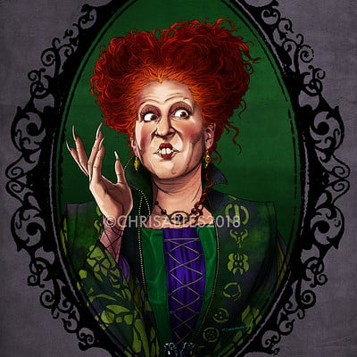 Christopher ables hh winifred sanderson watermark