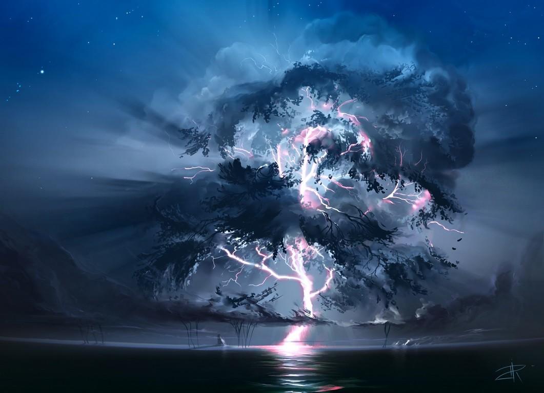 The tree of light(ning)