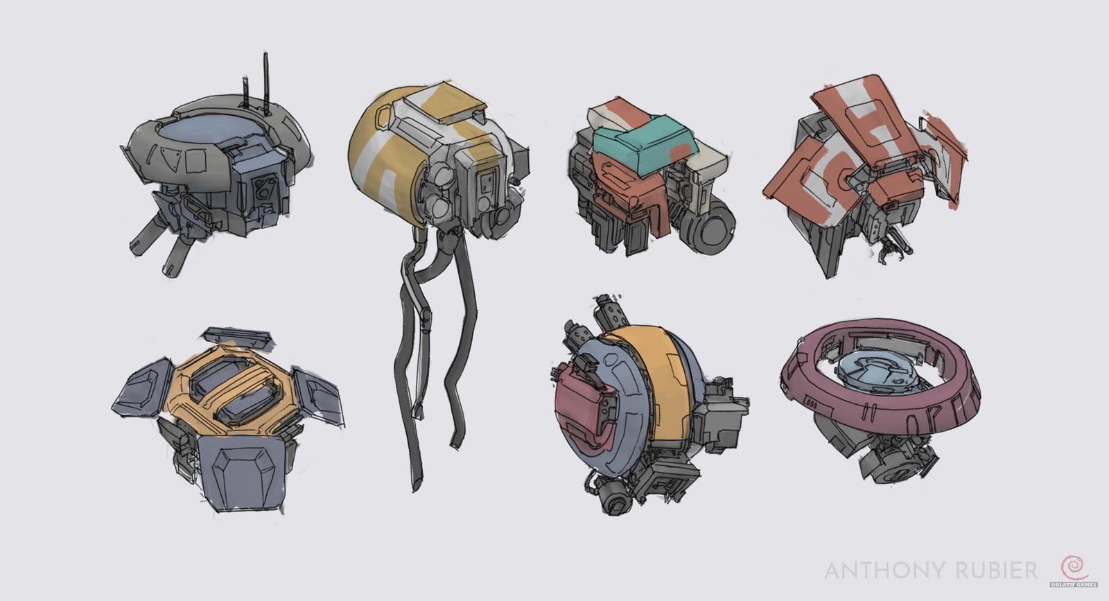 Drones concepts