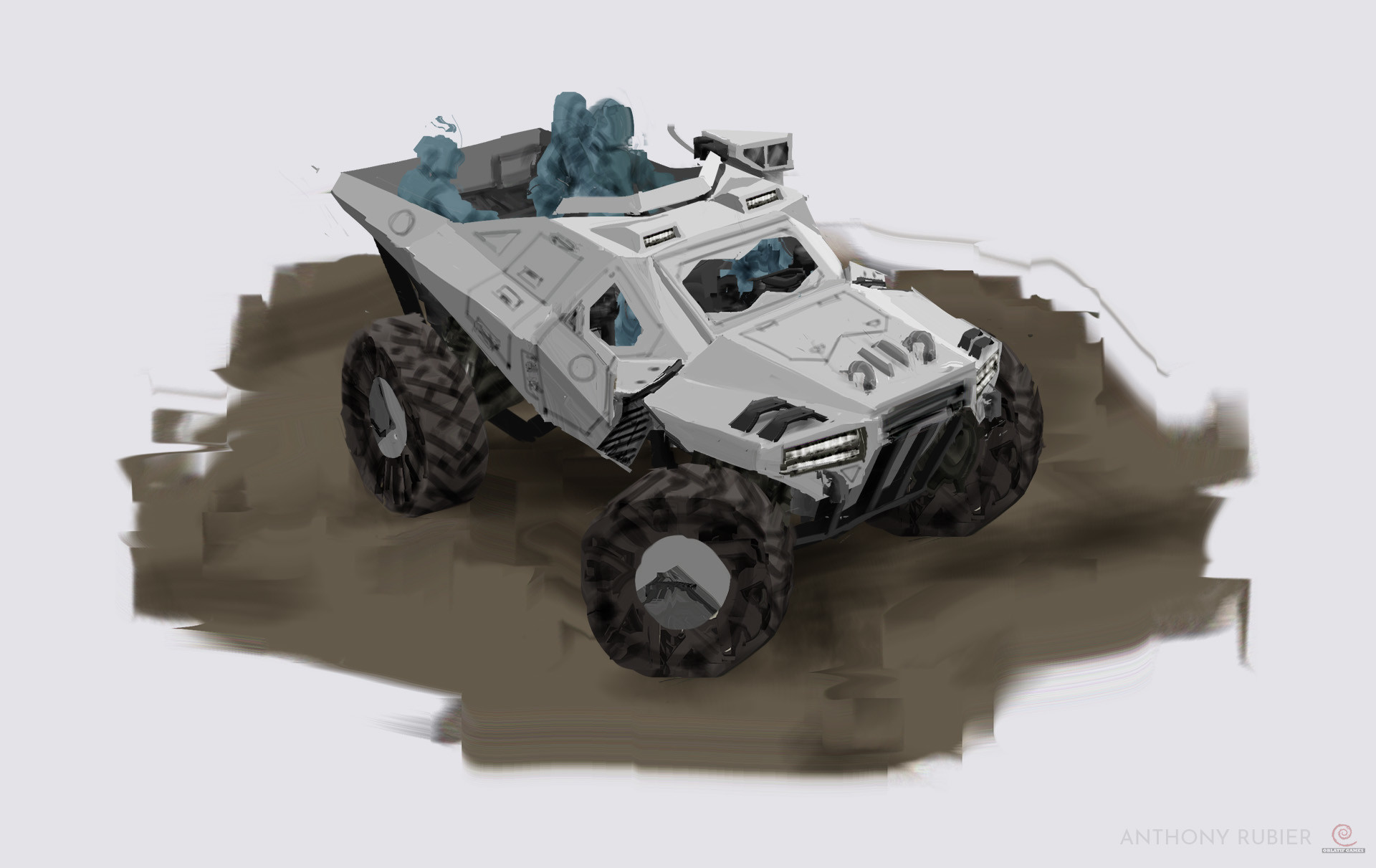 Anthony rubier concept buggy