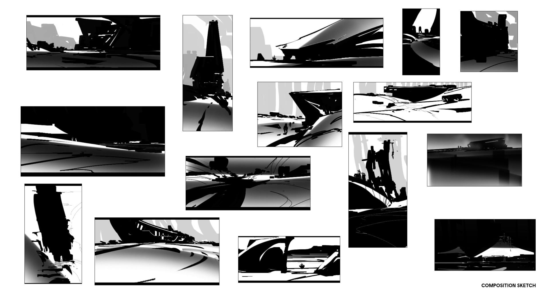 Sathish kumar composition sketches 02