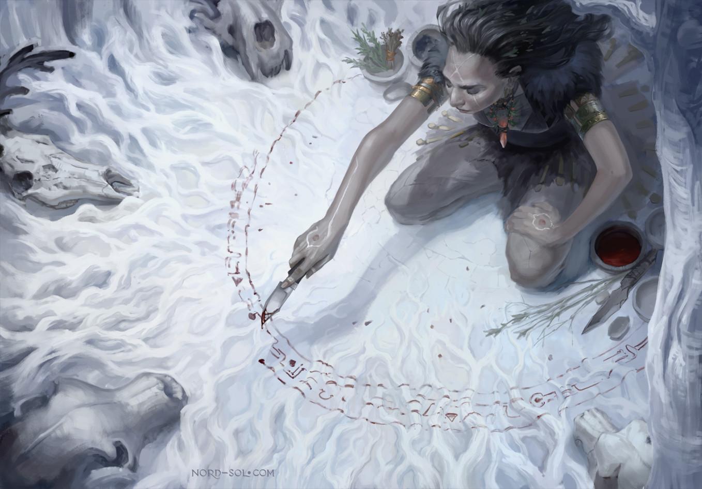 Irina nordsol kuzmina white woods nordsol