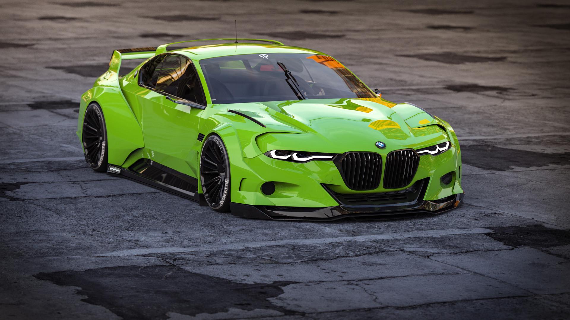 BMW 3.0 Csl >> ArtStation - BMW 3.0 CSL Hommage R Bodykit vol. III, Rostislav Prokop