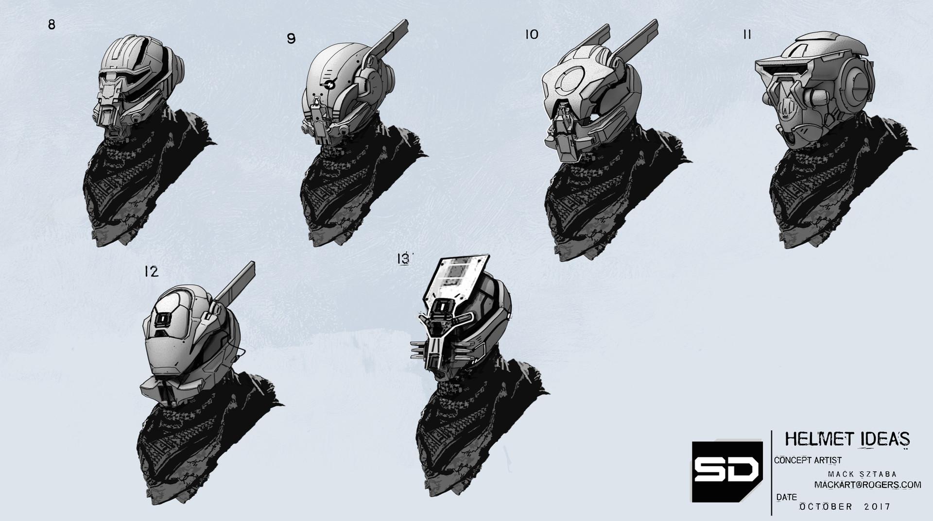 Mack sztaba helmet ideas 2
