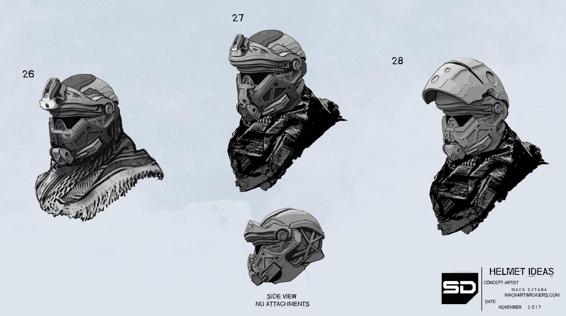 Mack sztaba helmet ideas 5