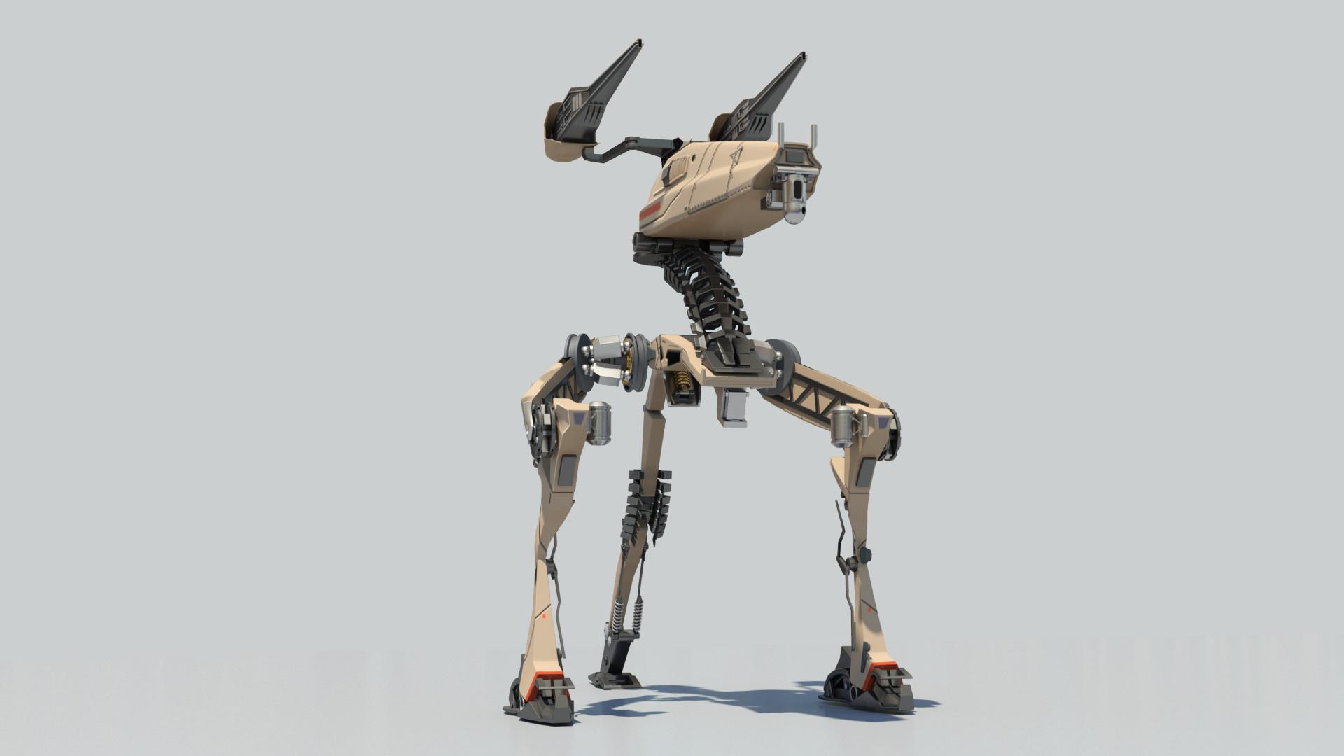 Mario merino tripod robot 03