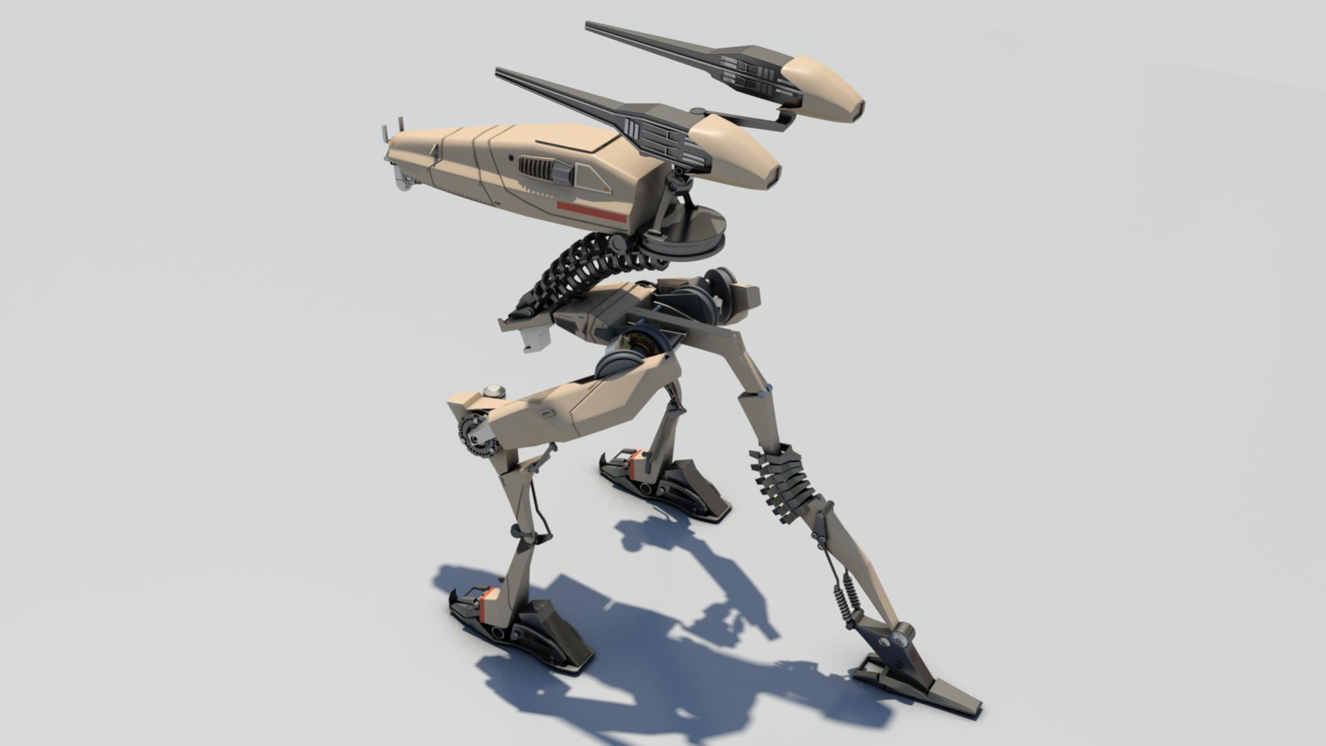 Mario merino tripod robot 05