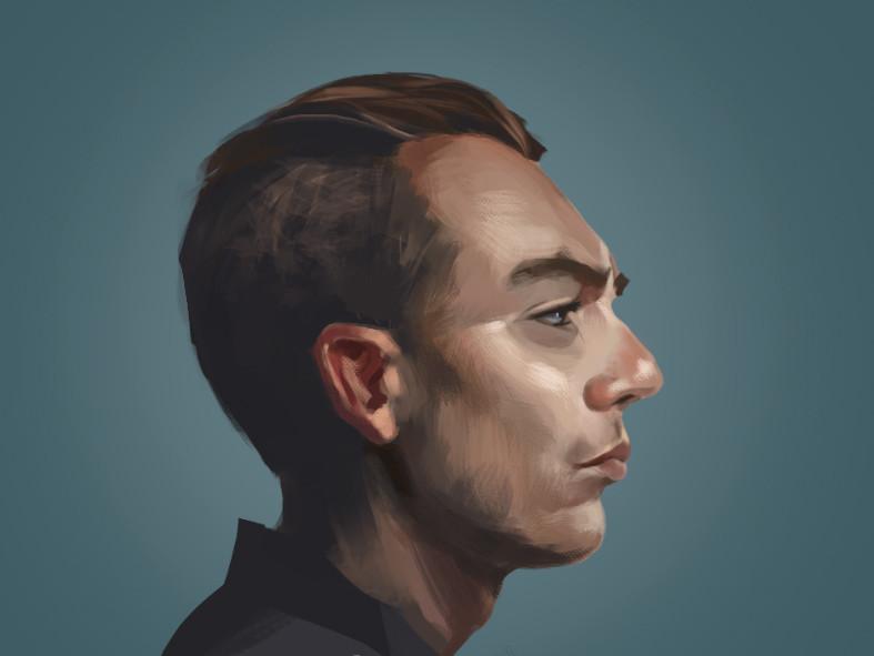 Benjamin goupil portrait study 04 full