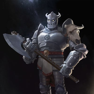 Artur treffner warforged paladin