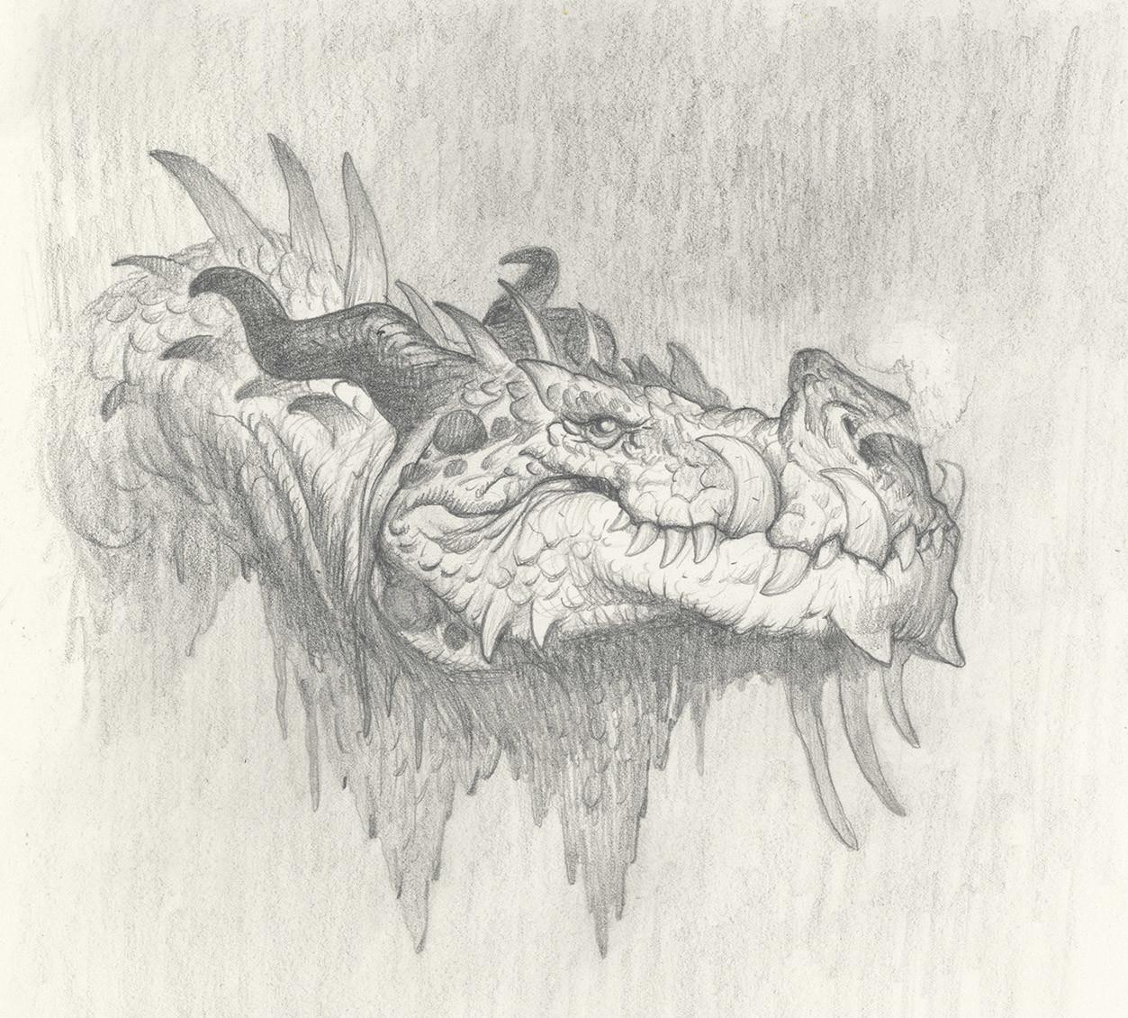 Exploratory Sketch (graphite)