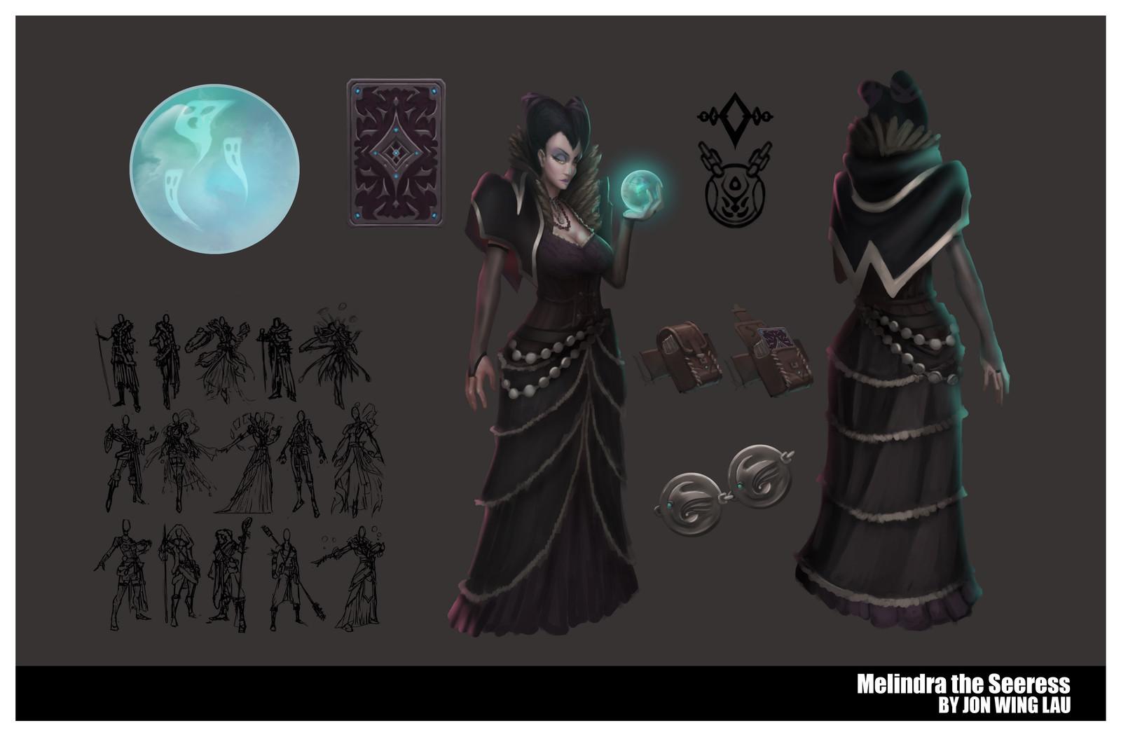 Melindra the Seeress