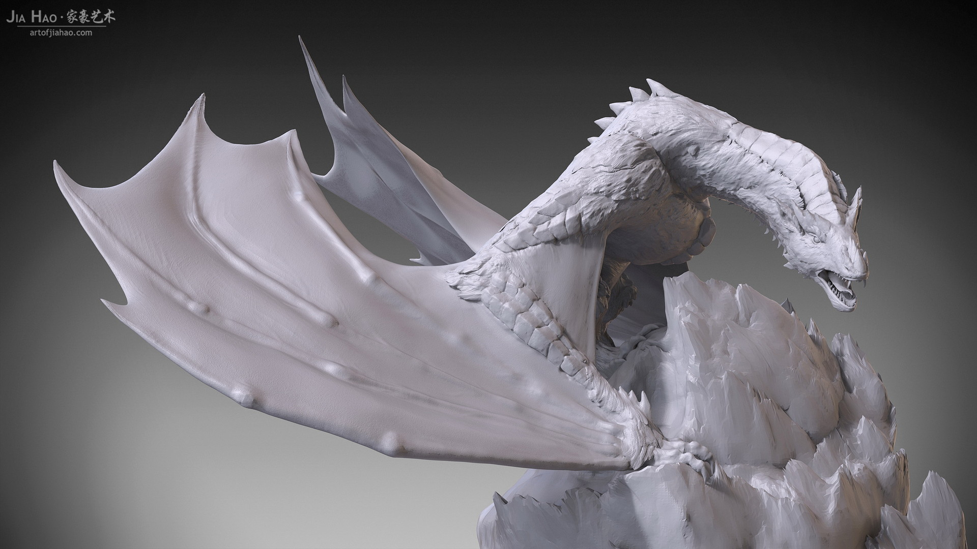 Jia hao 2018 snowdragon digitalsculpting 401