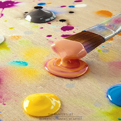 Roberto stranges the painter set
