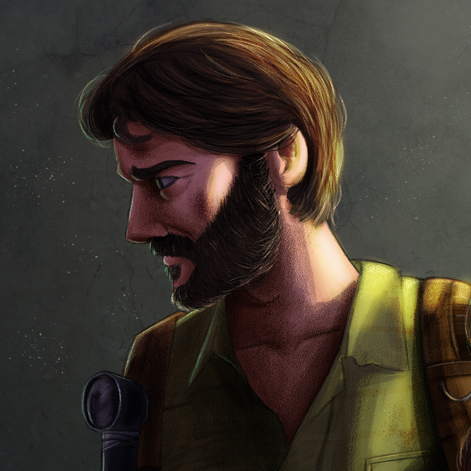 Rafael andrade the last of us color detalle 2
