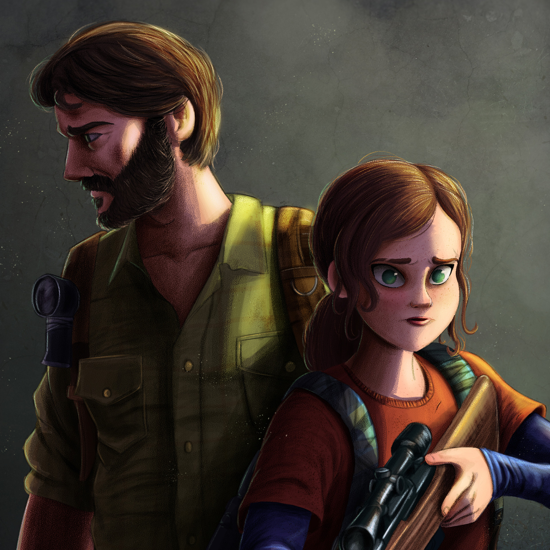 Rafael andrade the last of us color detalle 3