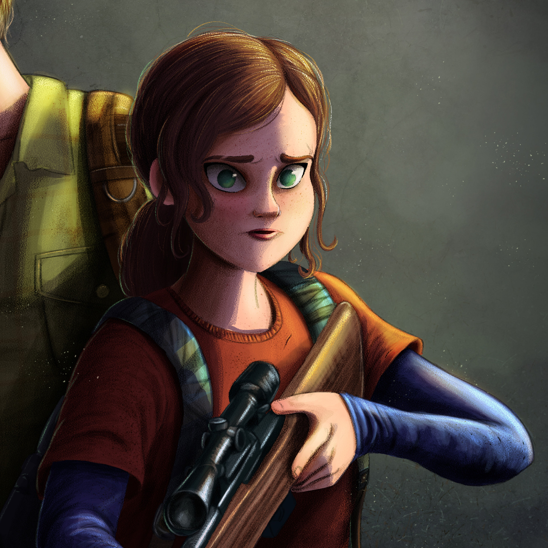 Rafael andrade the last of us color detalle