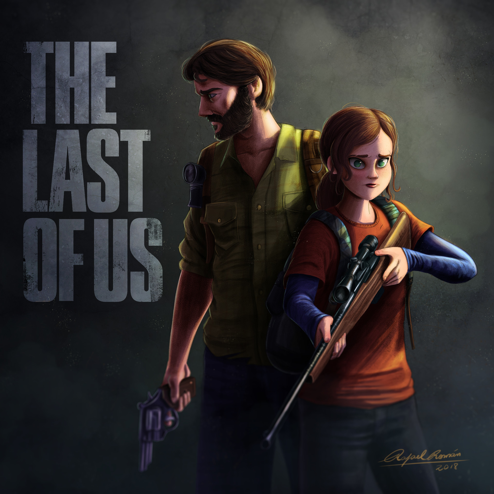 Rafael andrade the last of us color