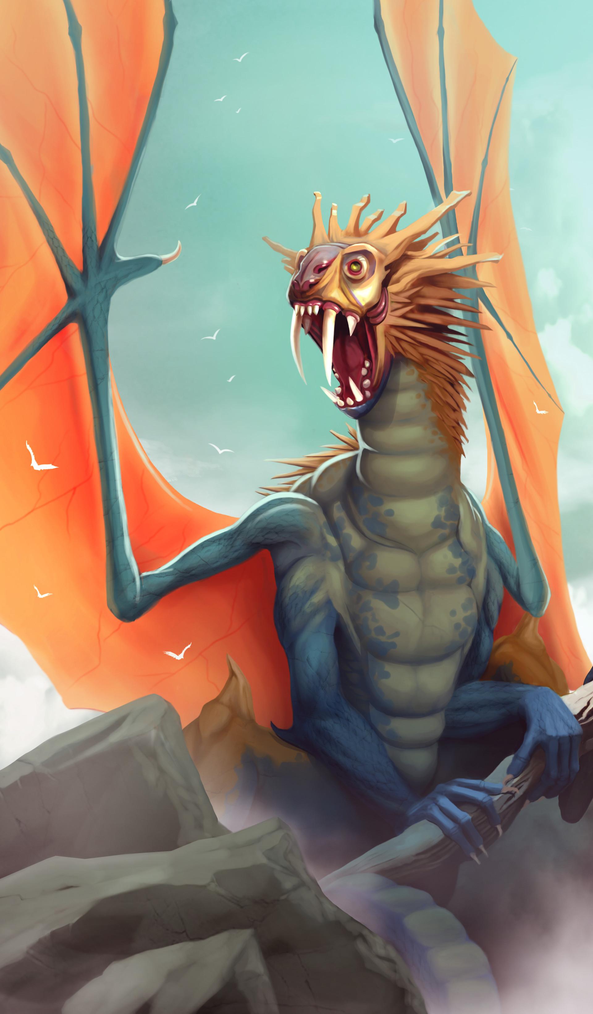 Cris plata dragon 004
