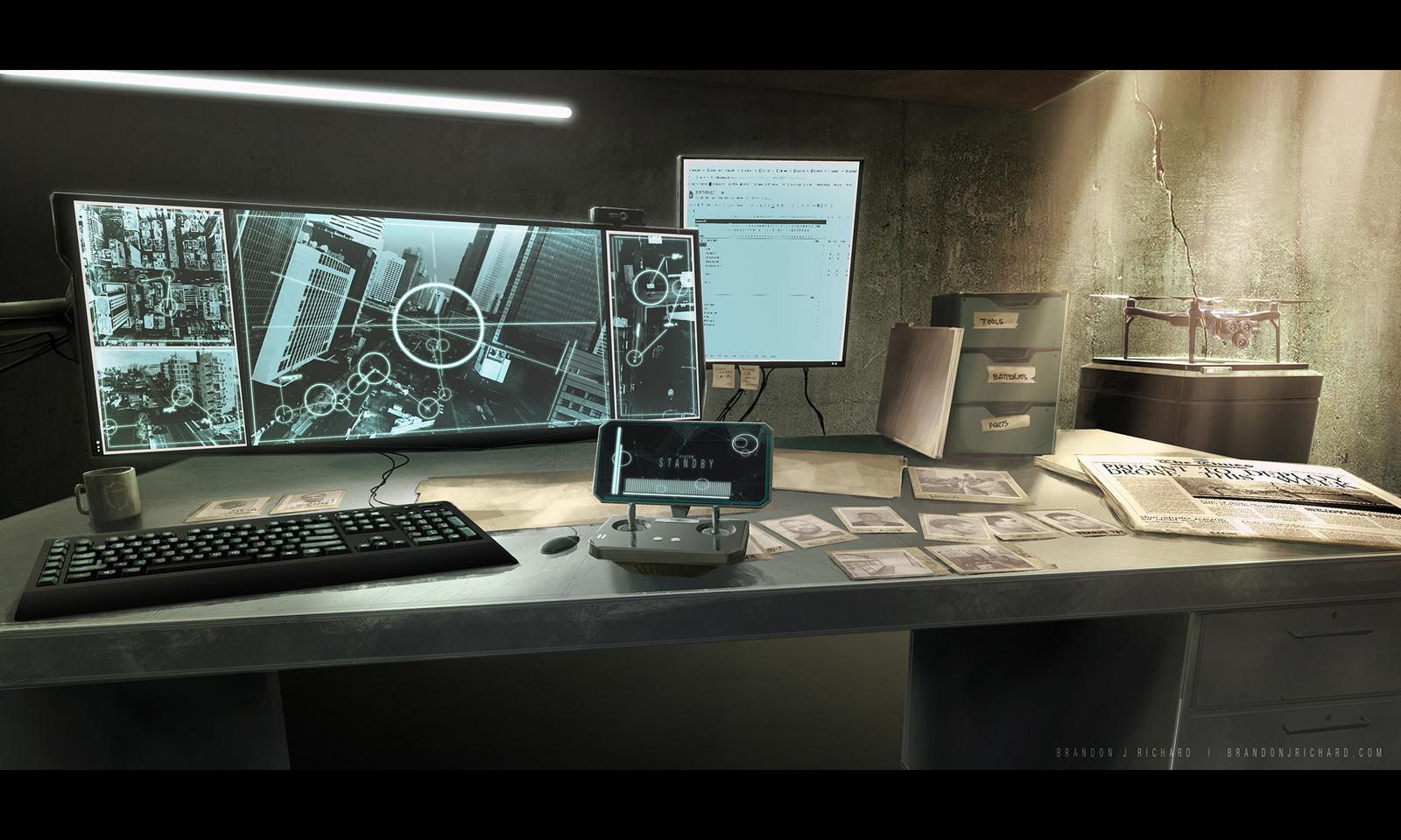 Drone Control Center
