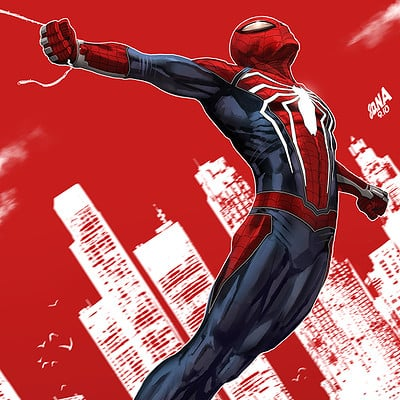 David nakayama spidergeddon ps4 1000v