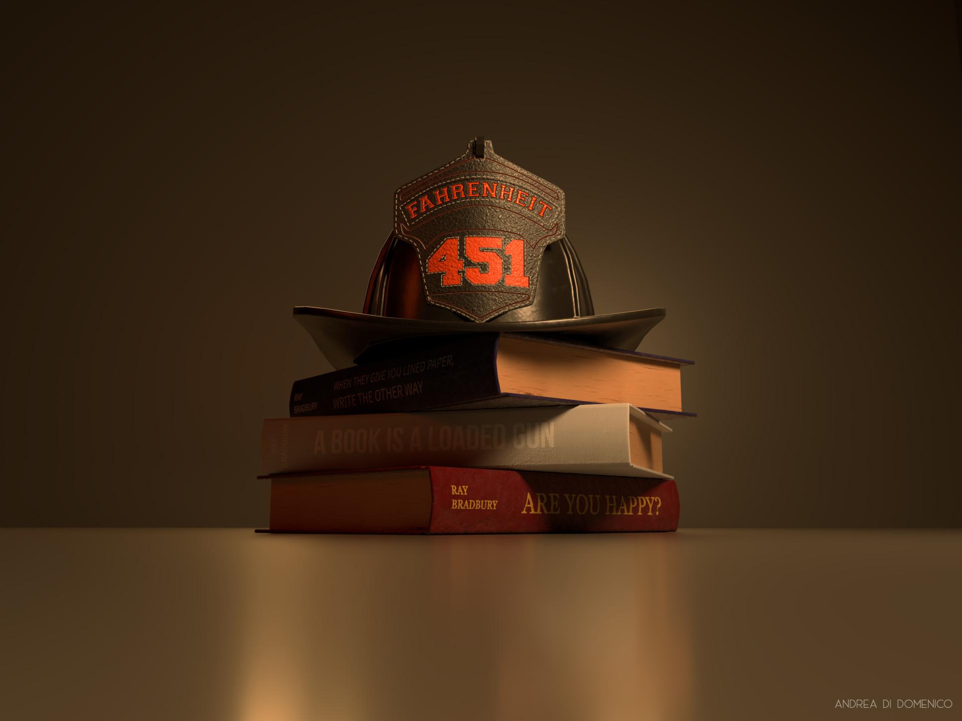 Artstation Fahrenheit 451 Andrea Di Domenico