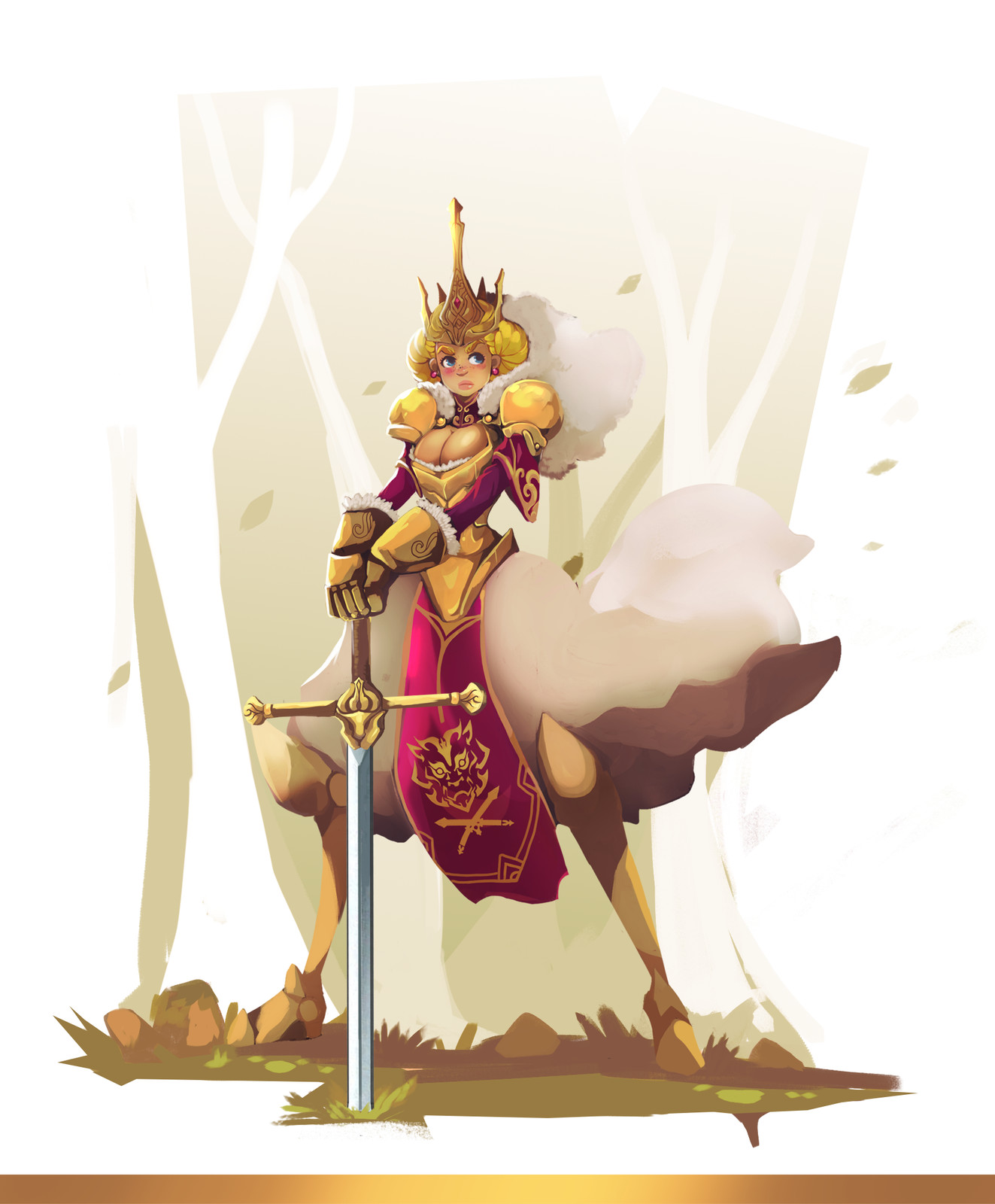 Princess Knight Concept