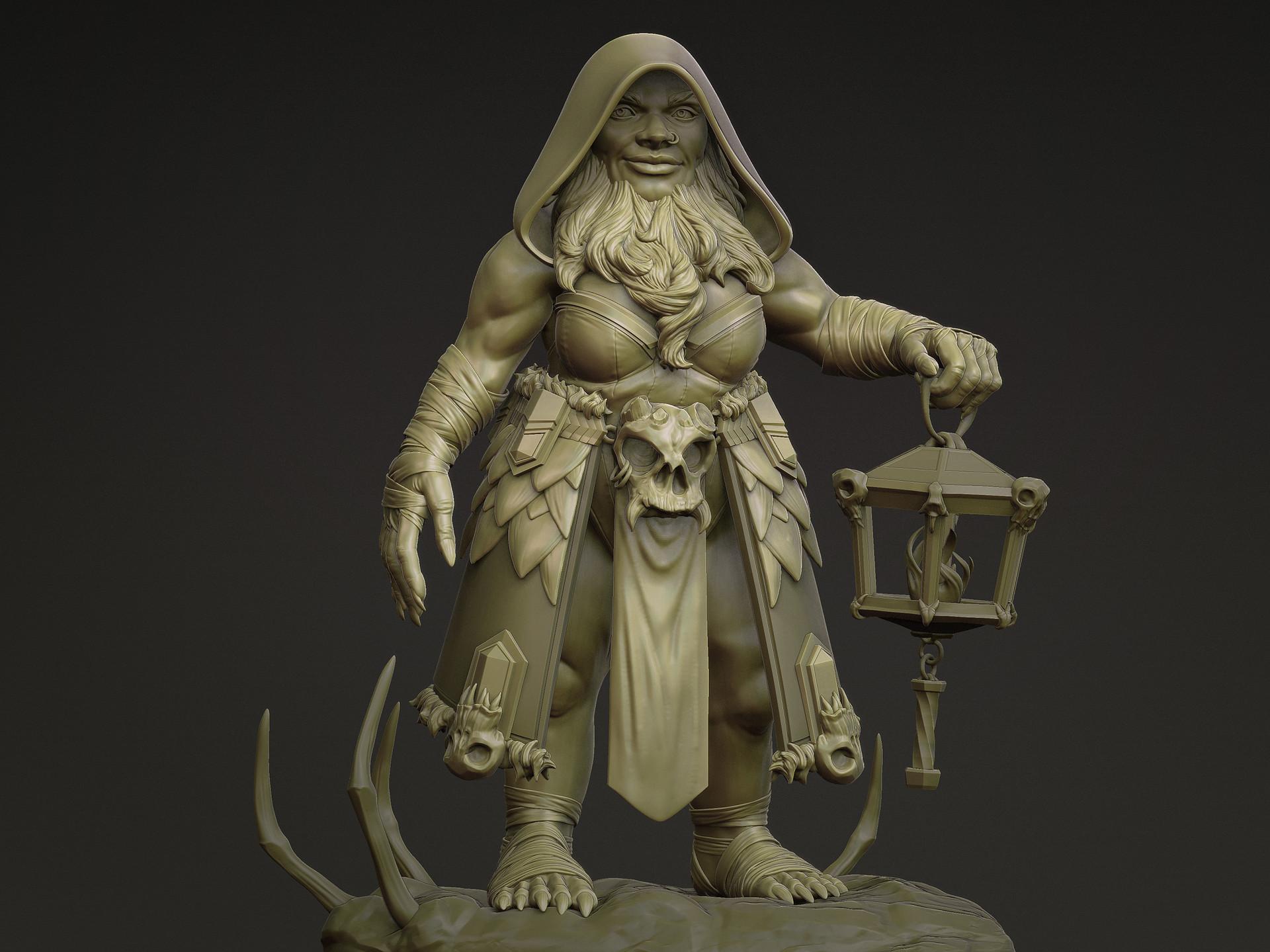 Rikke jansen dwarf sculpt fin2
