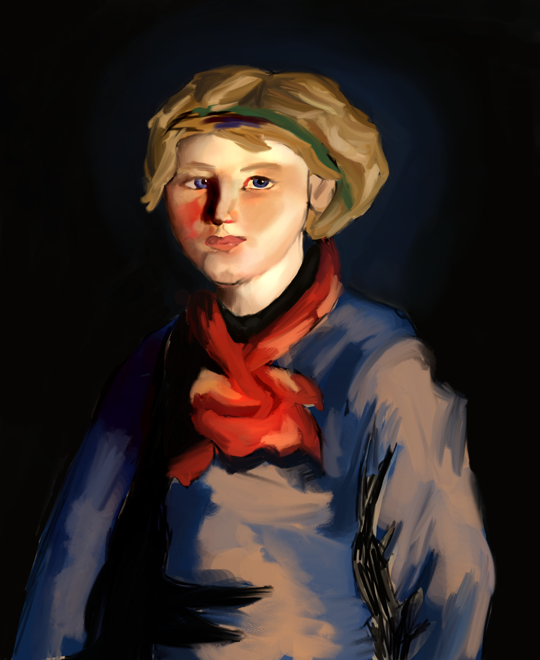 Kathleen Henri Pastiche