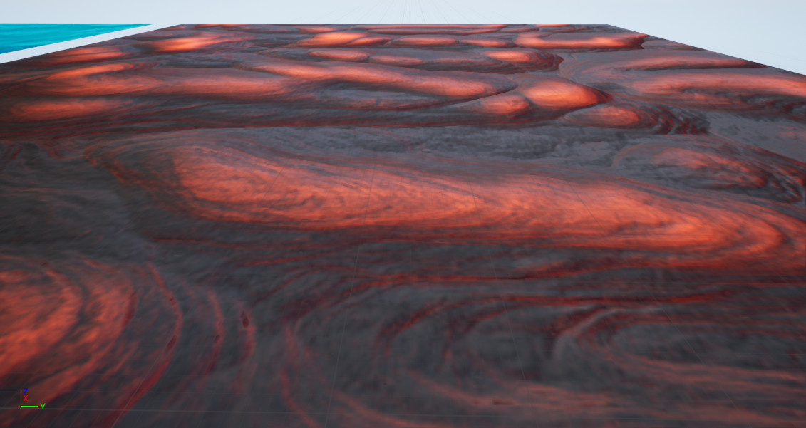 Flowing Lava Material (moving)