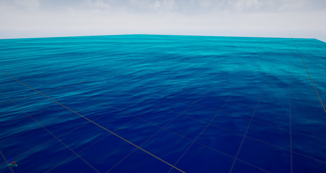 Water w/ moving waves