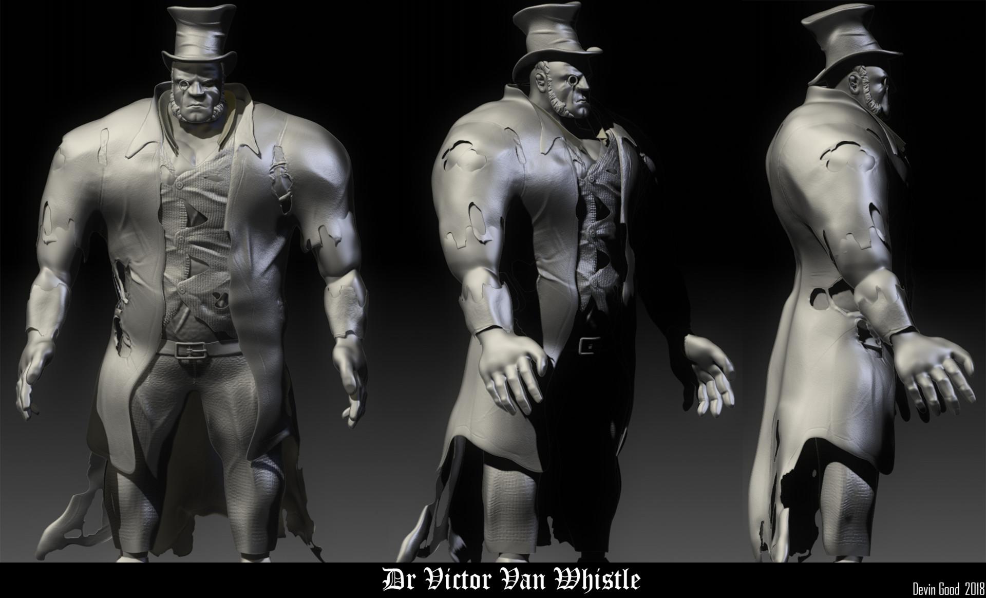 Victorian Villain Character #2