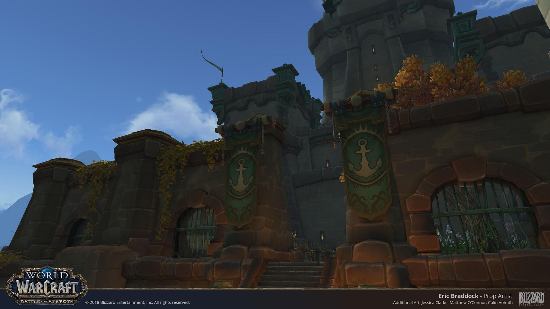Eric Braddock - Kul Tiras Banner Props - World of Warcraft