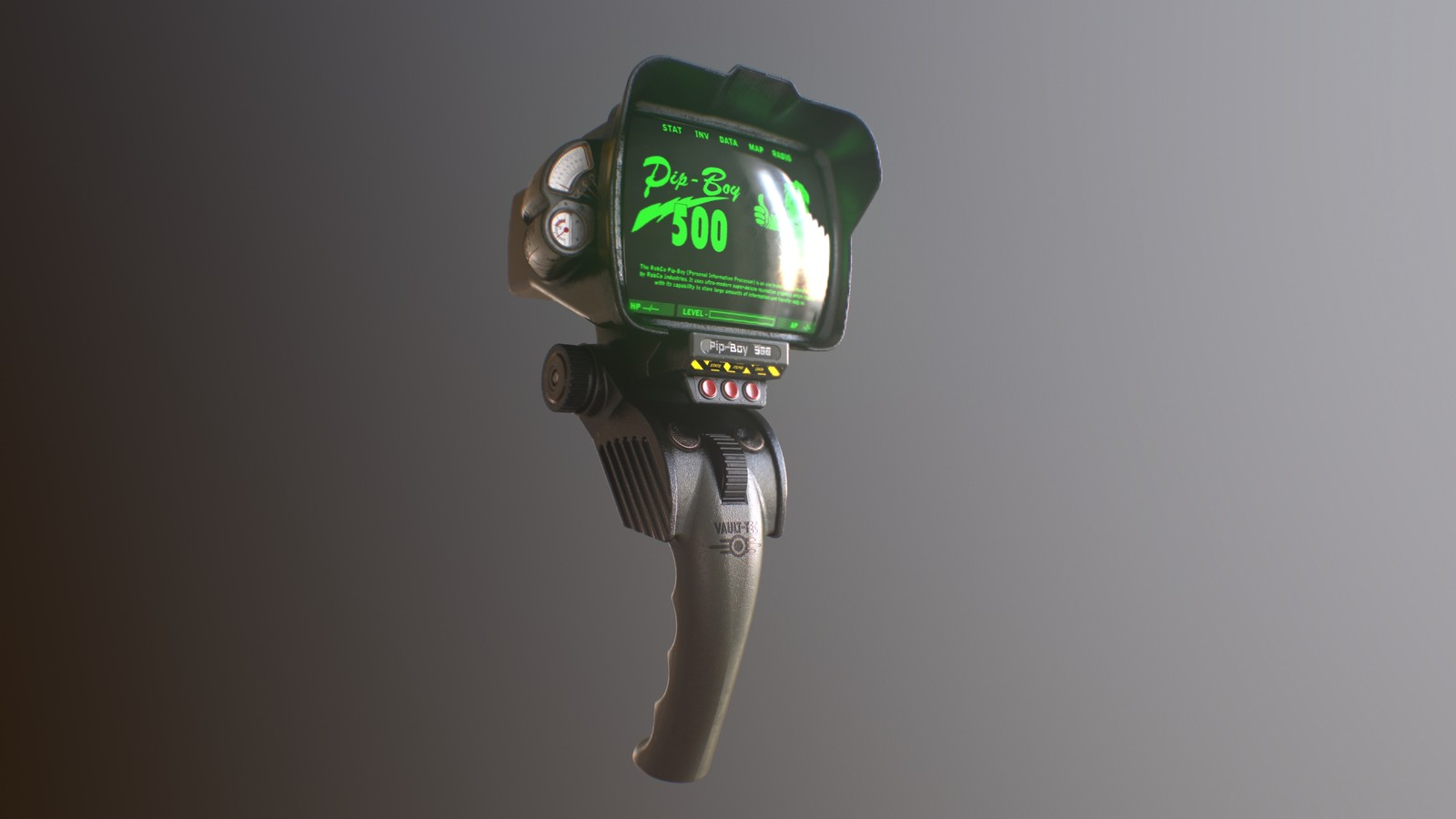 Pip-Boy 500 - Fallout Fan Art