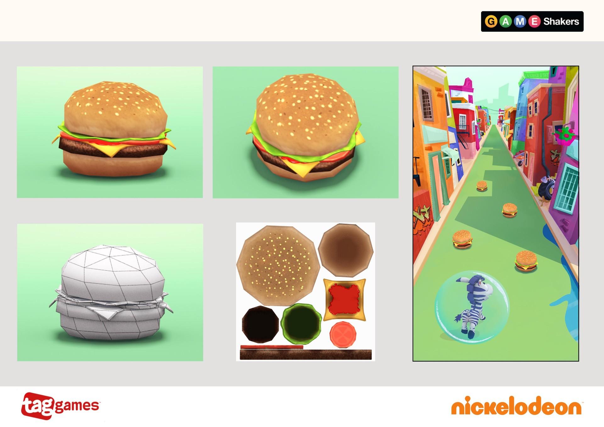 Lara bendoris destructableobject burger